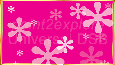 Digital Signage Pink Background